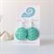 FILIGREE FUN - Teal coloured filigree earrings handmade in resin