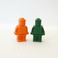 Minfig Crayons - Lego inspired