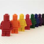 Lego Men Crayons