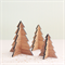 3 Christmas trees decoration ornament decor bamboo ply wood