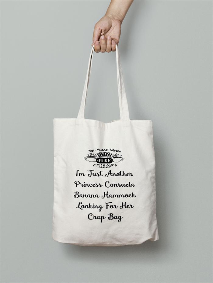 Friends Tv Show Canvas Tote Bag Printed Cotton