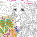 """""""Colour Me In"""" - a colouring book for adults or kids! FREE SHIPPING."""