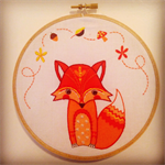 Dream Fox Wall Hanging