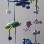 Nemo inspire Sea Creature Baby Mobile