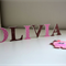 Wooden 6cm Wall or Door Letters. 6 letters and Motif