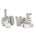 Concrete 'LOVE' Letters