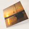 Boat Sunset card