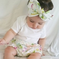 Tropical Flamingo bloomer shorts / nappy cover