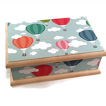 Hot Air Balloon Theme Baby Keepsake Box