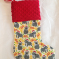 Personalised Christmas Stocking - Christmas Koala