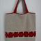 """Roses"" Tote Bag, Women, Crochet"