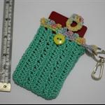 Card Holder for Key Ring