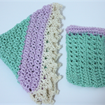 Crochet Face Washer & Soap Saver