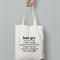 Hangry definition- Canvas Tote Bag -Printed Tote Bag -Christmas Gift
