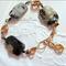 Gorgeous Bracelet with Arctic Jasper Beads