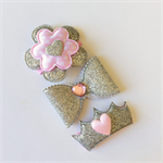 "Baby snap hair clips.""SOPHIE"""