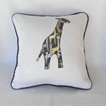 Cushion Cover - Giraffe - Animal - Applique