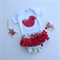 Gorgeous Girl Christmas Outfit - Ruffled Bloomers + Bird Onesie