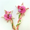 Woodland toadstool fairy wand