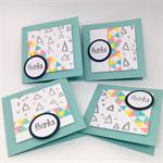 Thanks - mini card set (4)
