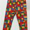 Block Print 3/4 Leggings Size 3