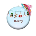 Personalised Christmas decorations - Christmas bunting