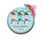 Personalised Christmas decorations - Dancing Reindeer