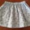 Girls Skirt Size 3-4 Foxy