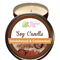 Sandalwood & Cedarwood Scented 100% Soy Wax Candle approx 40 + hours burn time.
