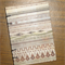A6 Notebook - Brown Stripes - 128pp