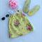 Yellow Floral Ruffle Girl Sun Dress