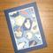 Chiyogami - Blue Fish (C6)