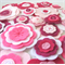 Felt Flower Wall Decorations, Girls Bedroom Decor
