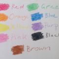 Dinosaur Crayons - set of 8