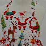 Size 1 - Jolly Santa Xmas Dress