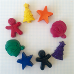 Christmas Crayons - set of 8