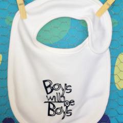 Boys Will Be Boys BIB