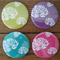Flowers - Large Magnets – Set of 4