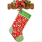 Personalised Christmas Stocking 'Home for the Holidays on Red'