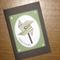 Birthday Pinwheel Card - Green & Brown (C6)