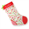 Personalised Christmas Stocking 'Home for the Holidays on white'