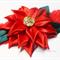 Christmas Poinsettia Flower Headband
