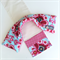 Lavender Heat Pack & Wrap: Pink and aqua floral with pink daisy back