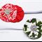 Christmas Newborn 'Mini Flower' Headband Set