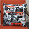 Halloween The Walking Dead cushion Black Red and White Grey Zombies Michonne