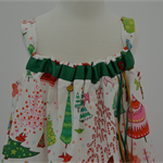Size 5 - Xmas Candy Christmas Dress