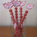 Personalised Christmas Lolly Tubes - Pack of 30