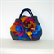 Felted Bag Artistic Flowers Handbag