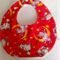 Hey Diddle Diddle (red) Baby to Toddler bib