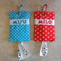 Personalised Dog Poo Bag Pouch